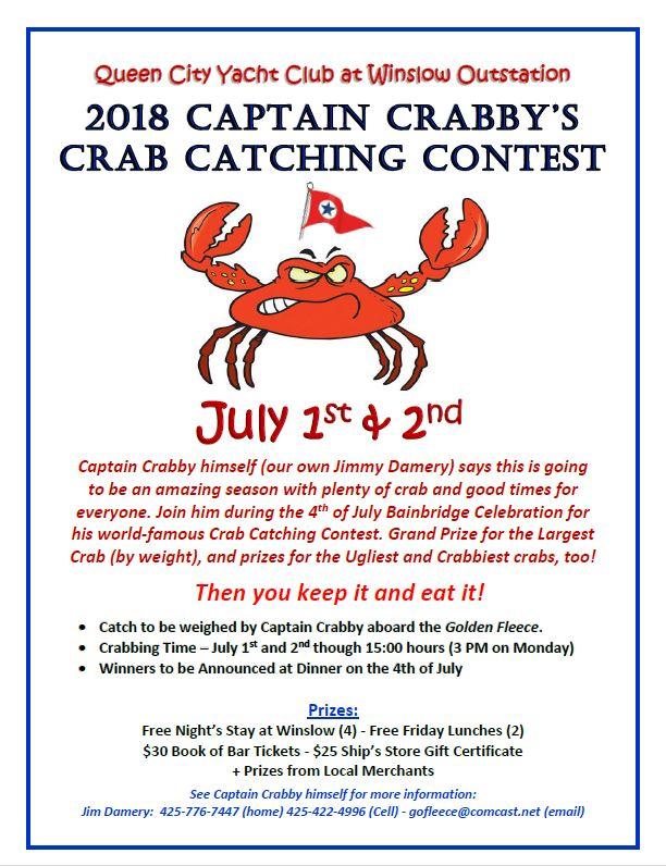 2018 Captain Crabby's Crab Catching Contest | Queen City